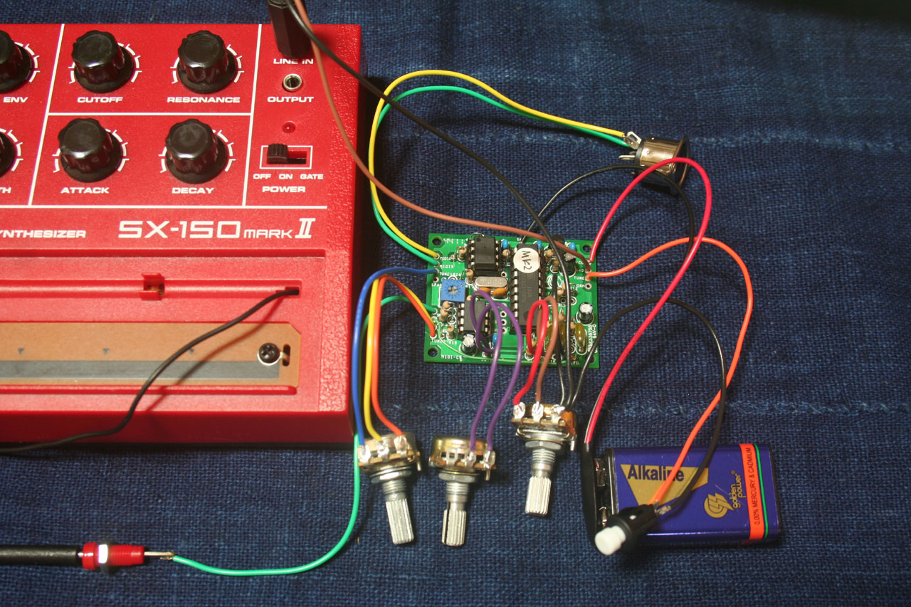 Wiring for SX-150 mk2