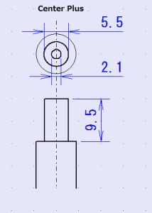 AC adaptor Plug