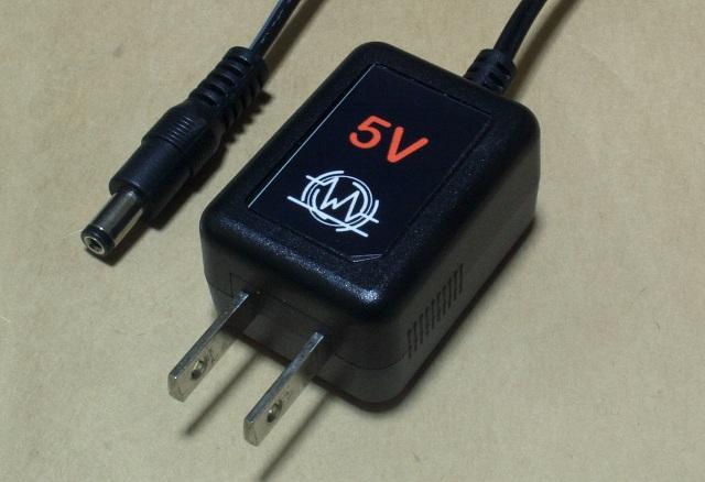 AC adapter 5V